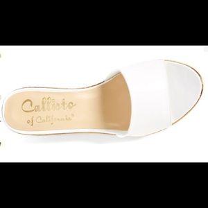 "CALLISTO ""In The Bag"" Wedge Platform Sandal"